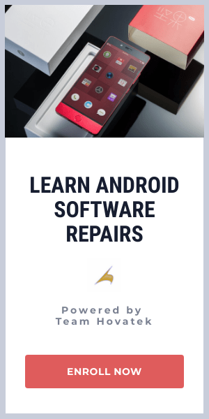 Mediatek, Qualcomm & Spreadtrum software repairs training